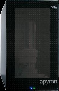Apyron avtomatiziran ramanski konfokalni mikroskop