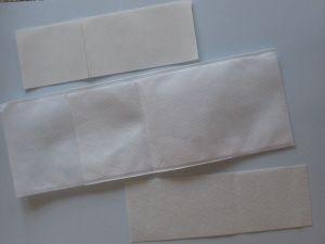 Zaščitni žep za kateter 24x18x8 z dvema obližema 15x5