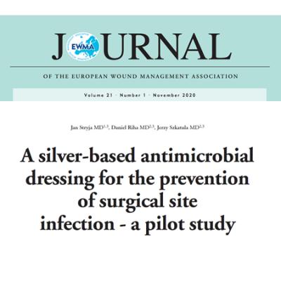 Protimikrobna obloga na osnovi srebra za preprečevanje okužb na mestu kirurškega posega - pilotna študija